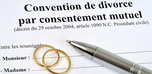 divorce par consentement mutuel